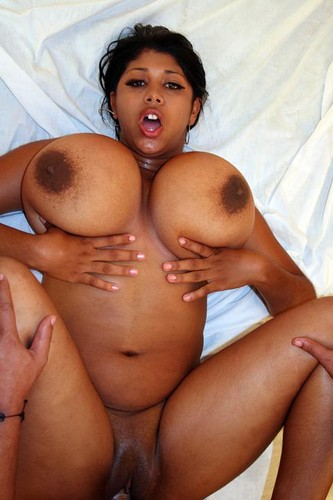 Kristina Milan   Huge Black Tits  Webcam