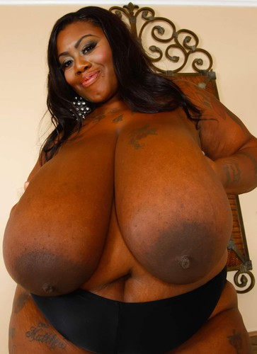 Mz Diva   Ebony Black Tits  Fattie HD 720p